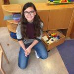 Melina im Kindergarten